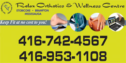 Relax Orthotics and Wellness Centre